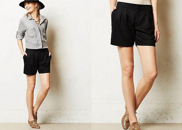 Sommertrend-Shorts
